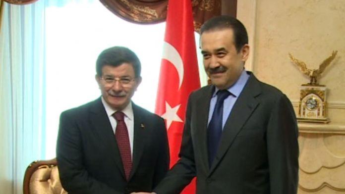 Davutoğlu Kazakistan'da