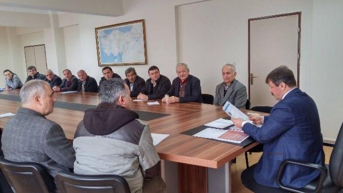 Gökçebey Özel İdare Müdürlüğü Tarafından Hizmet İçi Eğitim Kapsamında Bilgilendirme Toplantısı Yapıldı