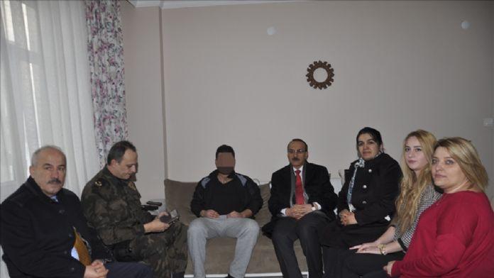 Vali Yavuz, yaralı polisleri ziyaret etti
