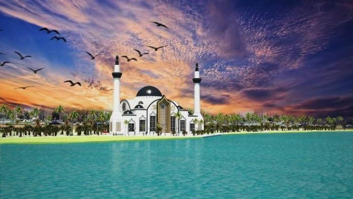 İskenderun'a 'Sahil Cami' Yapılıyor