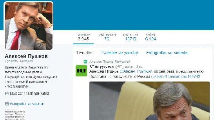 Puşkov: 'Erdoğan, Kremlin ile ilişkileri zorlaştırma yönünde ilerliyor'