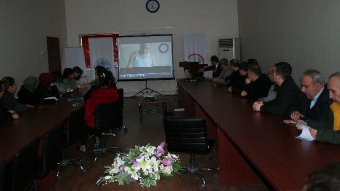 Su Ürünleri Araştırma Enstitüsü Müdürlüğü'de 'Kbrn' Eğitimi Verildi