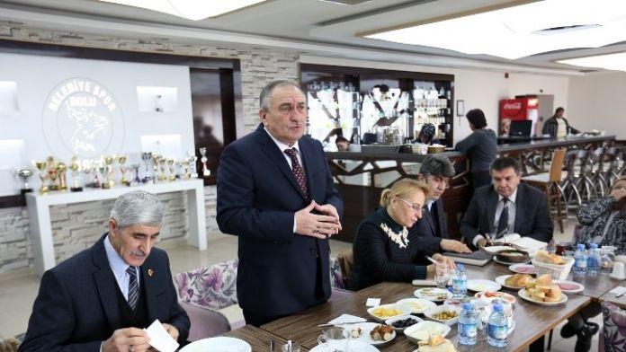 Bolu Belediye Başkanı Yılmaz Hedef Büyüttü
