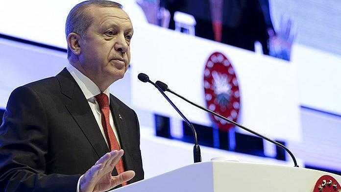 Erdoğan :'Felaket telallarına rağmen büyümemizi sürdürüyoruz '