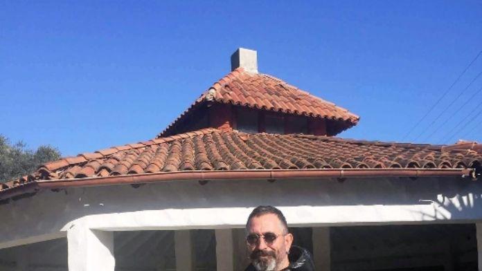 Cem Yılmaz oğluyla Bodrum'da