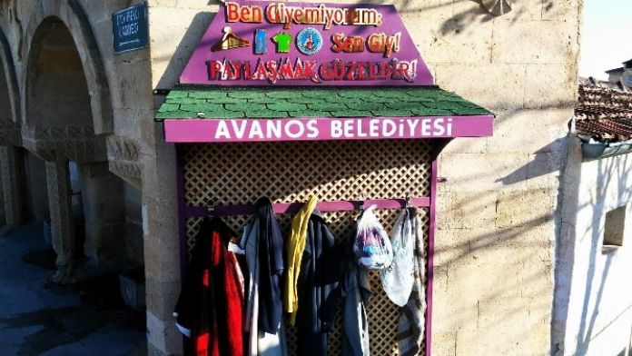 Avanos'ta Örnek Kampanya, 'Ben Giyemiyorum Sen Giy'