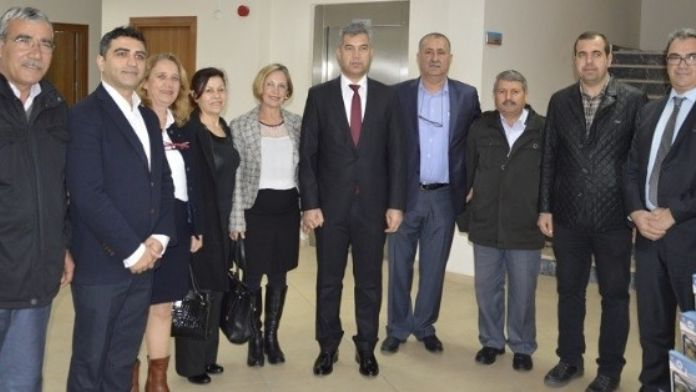 Vali Hamza Erkal, Kepez Belediyesini Ziyaret Etti