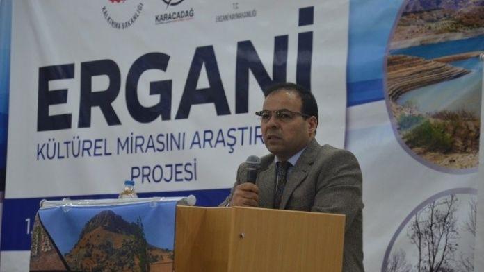 Ergani'de Kültür Ve Turizm Çalıştayı Düzenlendi