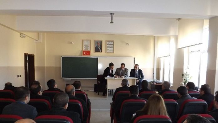Ergani'de TEOG Toplantısı Yapıldı