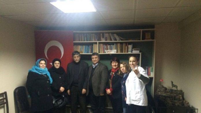 MHP'li Kadınlardan Esnaf Ziyareti