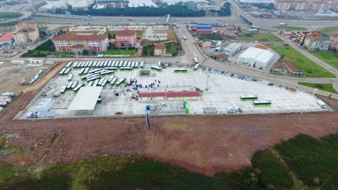Körfez'de Yeni Otobüsler İçin Modern Bir Garaj İnşa Edildi