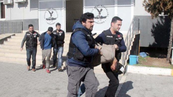 Şanlıurfa'da akü hırsızlığına 2 gözaltı