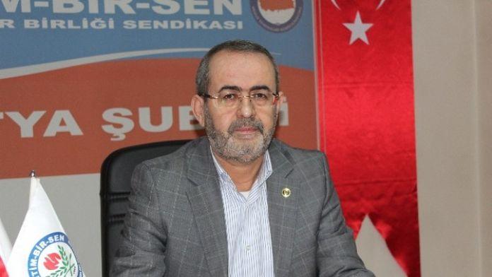 Memur-sen Malatya Şube Başkanı Kerem Yıldırım