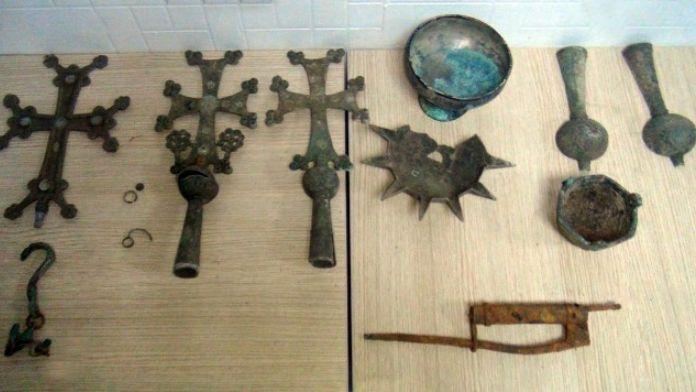 Şanlıurfa'da Roma Dönemine Ait Tarihi Eserler Ele Geçirildi