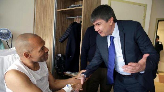 Antalyaspor teknik direktörü Morais pazartesi günü taburcu