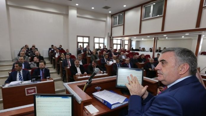 Büyükşehir Belediyesi Şubat Ayı Olağan Meclis Toplantısı Gerçekleşti