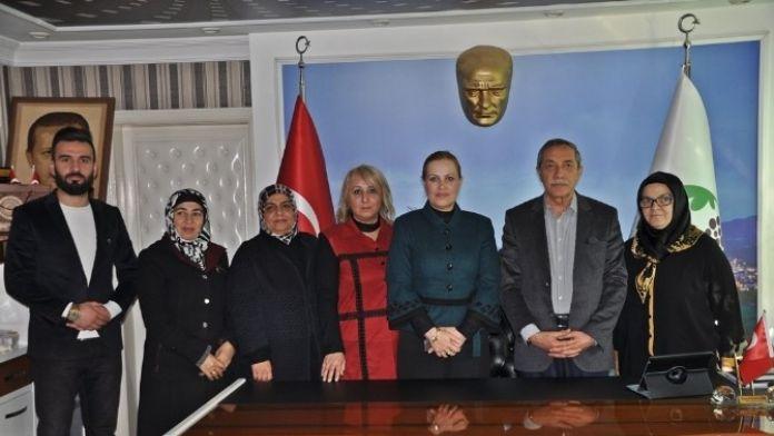 Yekad Derneğinden Başkan Özdemir'e Ziyaret