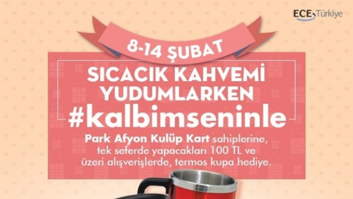 Park Afyon AVM'den 'Sevgililer Günü'ne Özel Etkinlik