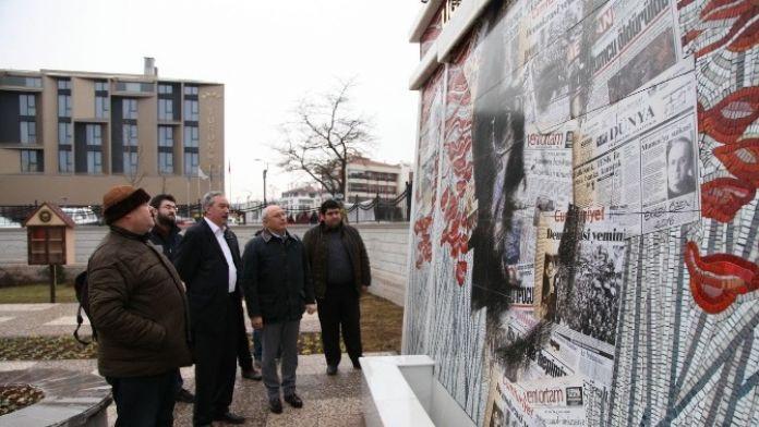 Çakırözer, Uğur Mumcu Anıtını Ziyaret Etti