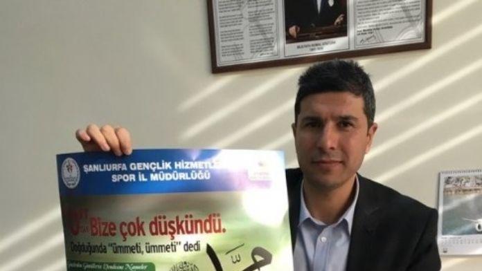 Şanlıurfa'da Peygamber Efendimize Nameler Yarışması Düzenleniyor