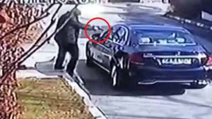 İş adamının öldürüldüğü saldırı kamerada
