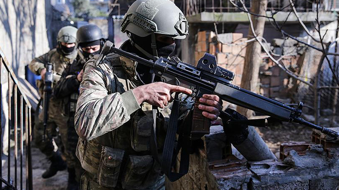 PKK Cudi mahallesine sıkıştırıldı !