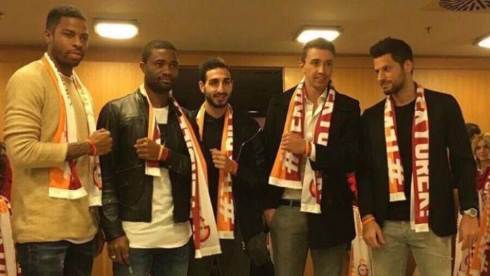 Galatasaray camiası 'tek yürek' oldu
