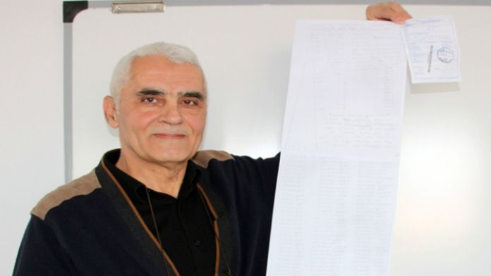 Matematik öğretmeni bulduğu formülü Bakan'a gönderdi