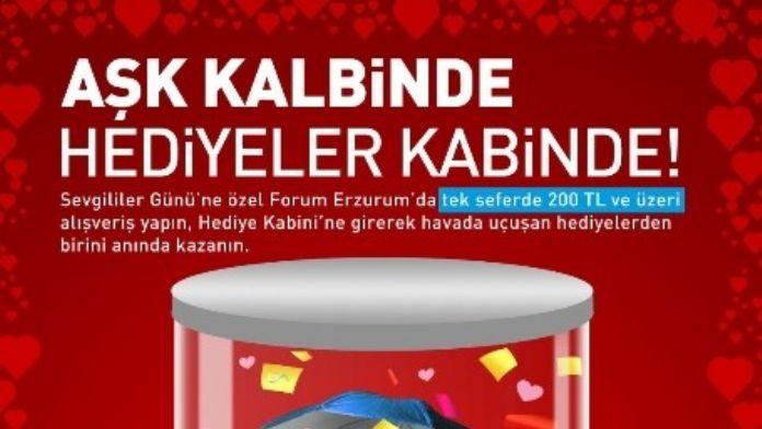 En Güzel Sevgililer Günü Hediyeleri Forum Erzurum Hediye Kabini'nde!