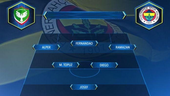 İşte Fenerbahçe'nin 11'i