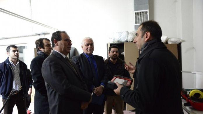Libya Akademik Ateşesi Latif'ten Rektör Özer'e Ziyaret
