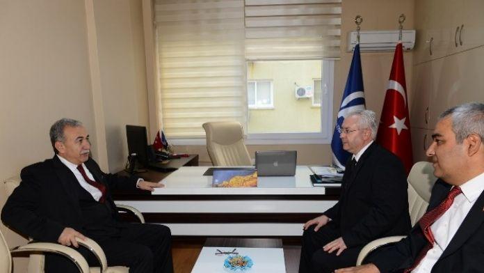 Vali Büyük'ten Anadolu Ajansı'na Taziye Ziyareti