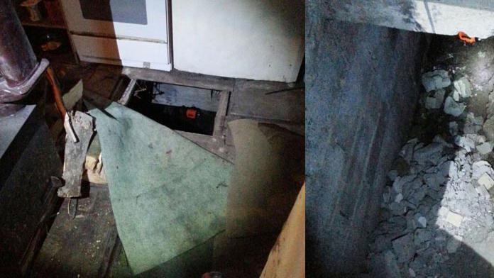2 kardeşi öldüren şüpheli, evinin altındaki sığınakta yakalandı