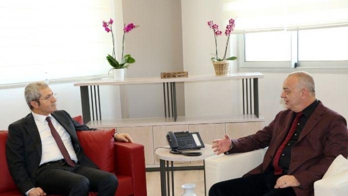 İller Bankası'ndan Başkan Ergün'e 'Hayırlı Olsun' Ziyareti