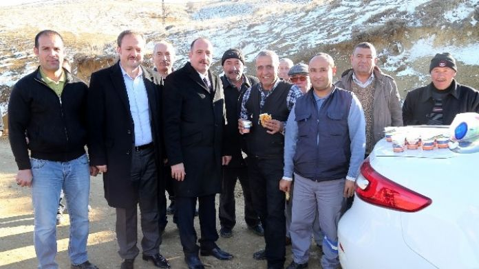Başkan Duruay'dan Personele Baklavalı Ziyaret
