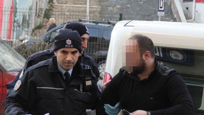 Tabancayla Yakalanan Şahıs Gözaltına Alındı