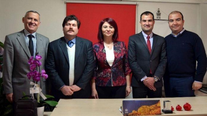 ADÜ Basın Ve Halkla İlişkiler Müdürlüğü'nden Agc'nin Yeni Yönetimine Ziyaret