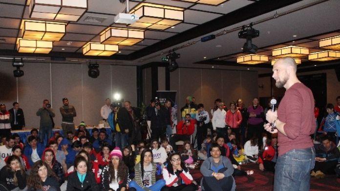 Dünyaca Ünlü Kayakçı Marco Buechel Genç Sporculara Tecrübelerini Anlattı