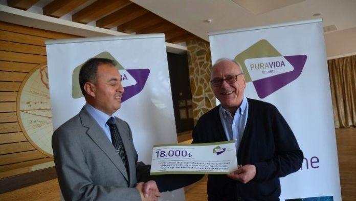 Sarıgerme'de Kimsesiz Çocuklara 18 Bin TL.lik Yardım