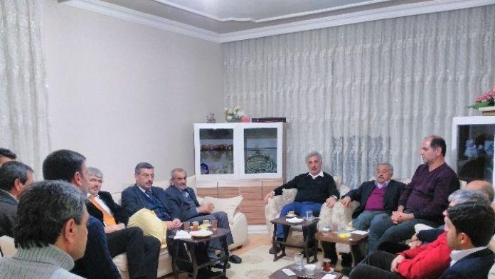 Eski Milletvekili Fuat Ölmeztoprak'tan Taziye Ziyareti