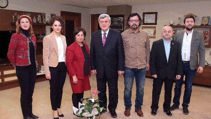 Başkan Karaosmanoğlu, 'Kentimiz, Mimarların Şehri Olmalıdır'