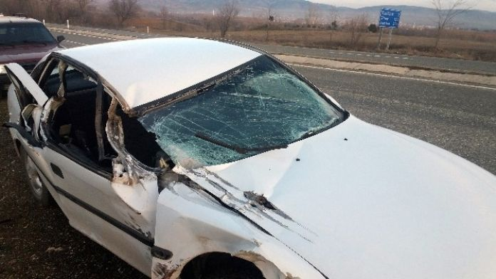 Kastamonu'da Trafik Kazası: 4 Yaralı