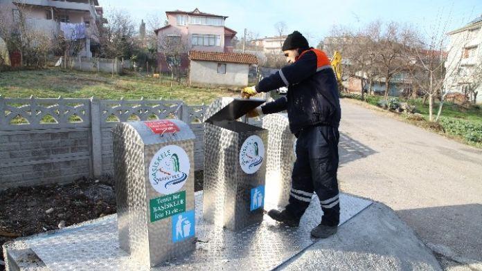Başiskele'de 50 Noktaya Yer Altı Çöp Koyteynerleri Konulacak