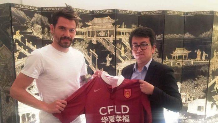 Çin kulübü Ersan'ı resmen açıkladı