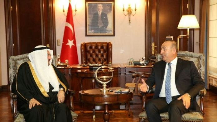 Bakan Çavuşoğlu, İit Genel Sekreteri Madani İle Görüştü