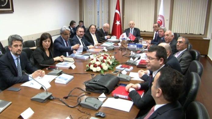 Anayasa Uzlaşma Komisyonu ikinci kez toplandı