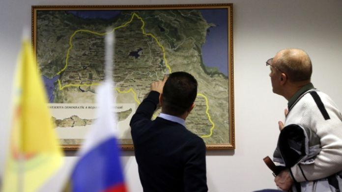 PYD Rusya'da temsilcilik açtı !
