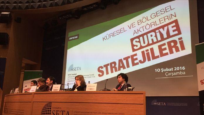 'Küresel ve bölgesel aktörlerin Suriye stratejileri' sempozyumu