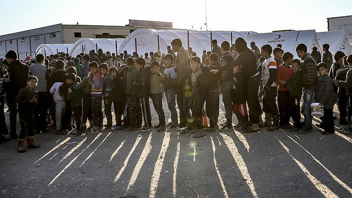 Sınırda insanlık dramı yürekleri burkuyor