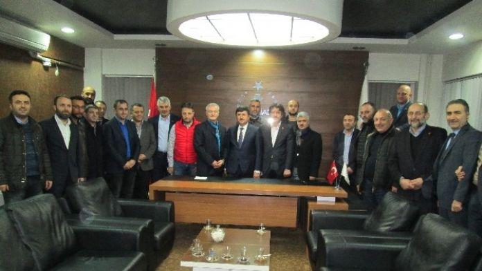 Trabzon Valisi Abdil Celil Öz'den TÜMSİAD'a Ziyaret